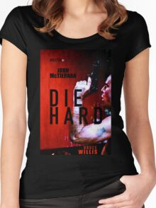 DIE HARD 9 Women's Fitted Scoop T-Shirt