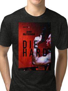 DIE HARD 9 Tri-blend T-Shirt