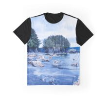 Ouzinkie Narrows Alaska  Graphic T-Shirt