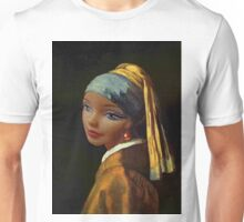Barbie with a Plastic Earring Unisex T-Shirt