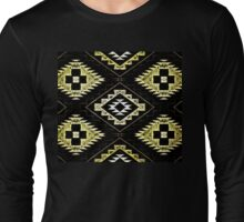 Navajo Vintage Earth Tones  Long Sleeve T-Shirt