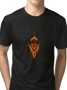 Transformation's Flame on Black Tri-blend T-Shirt