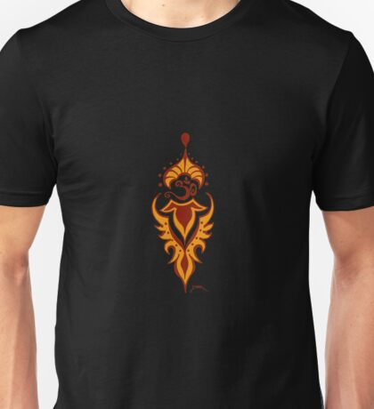 Transformation's Flame on Black Unisex T-Shirt