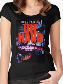 DIE HARD 10 Women's Fitted Scoop T-Shirt