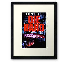DIE HARD 10 Framed Print