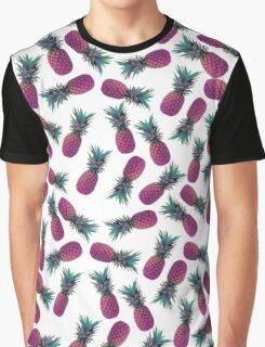 Trippy Pineapple Graphic T-Shirt