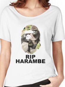 HARAMBAPE (HARAMBE X BAPE) Women's Relaxed Fit T-Shirt