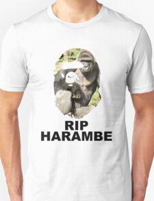 HARAMBAPE (HARAMBE X BAPE) Unisex T-Shirt