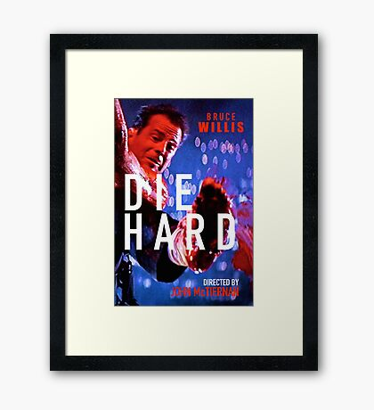 DIE HARD 11 Framed Print