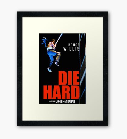 DIE HARD 12 Framed Print
