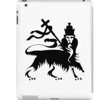 Congo Natty Logo - Lion with Cross iPad Case/Skin