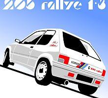 Peugeot 205 Rallye by car2oonz