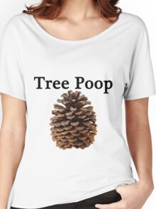 Neature walk: tree poop Women's Relaxed Fit T-Shirt