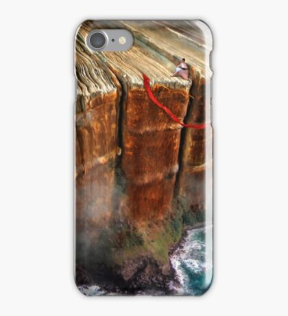 Cliffhanger iPhone Case/Skin