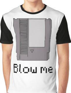 NES cartridge- blow me Graphic T-Shirt
