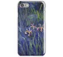 Claude Monet - Irises 2 1917 iPhone Case/Skin