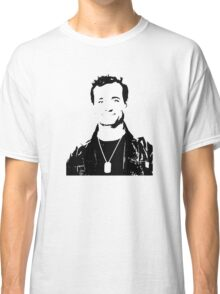 Bill Murray Stripes - Black Outline Classic T-Shirt