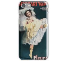 Performing Arts Posters Joseph Hart Vaudeville Co direct from Weber Fields Music Hall New York City 0961 iPhone Case/Skin