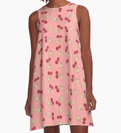 Cherry Amour A-Line Dress