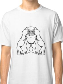 Monster witzig muskeln sonnenbrille  Classic T-Shirt