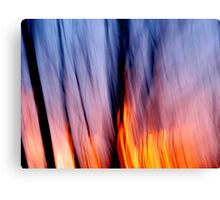 Out of the Blue into the Fire #1 Canvas Print