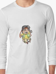 Hunk is ready to fight! Long Sleeve T-Shirt