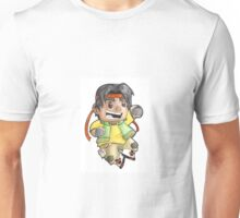 Hunk is ready to fight! Unisex T-Shirt