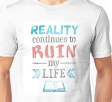 Ruin My Life - Blue and Red Unisex T-Shirt