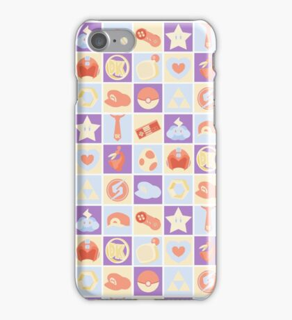 Nintendo Pop Art iPhone Case/Skin