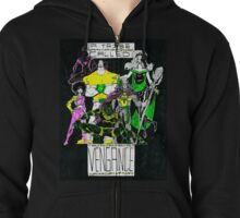 A Tribe Called Vengence Zipped Hoodie
