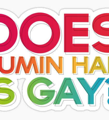 Does Jumin Han is gay? Sticker