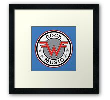 Rock Music Framed Print
