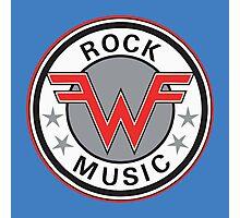 Rock Music Photographic Print