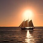 Sunset Sailing by gunda96