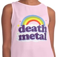 Death Metal Rainbow Contrast Tank