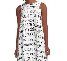 Wakanaka A-Line Dress