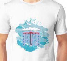 Japanese Kanji - Rain - Ame Unisex T-Shirt