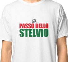 Passo dello Stelvio - hard cornering Classic T-Shirt