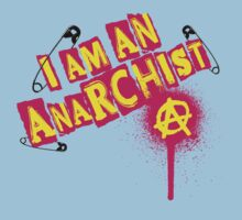 I am an Anarchist Kids Tee