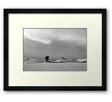 Prairie Winter Framed Print