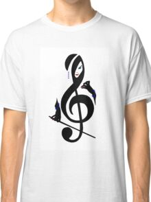 The Treble with Cello Girls Music Classic T-Shirt