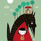 Little red riding hood by mjdaluz