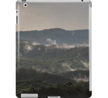 Misty hills iPad Case/Skin
