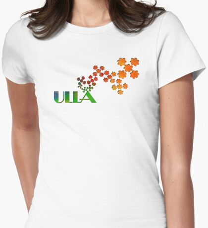 The Name Game - Ulla Womens Fitted T-Shirt