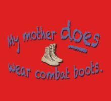Combat Boots Kids Tee