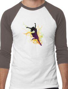dancing women Men's Baseball ¾ T-Shirt