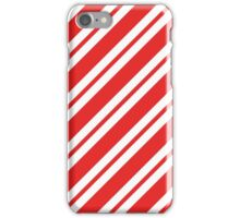 Christmas Candy Cane Pattern iPhone Case/Skin