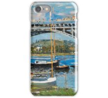 Claude Monet - The Bridge Over The Seine iPhone Case/Skin