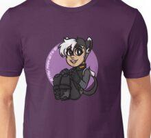 Pawsitive Shiro! Unisex T-Shirt