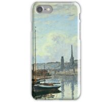 Claude Monet - View Of Rouen iPhone Case/Skin